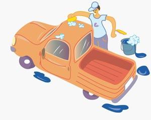 Les bons gestes : lavage voiture
